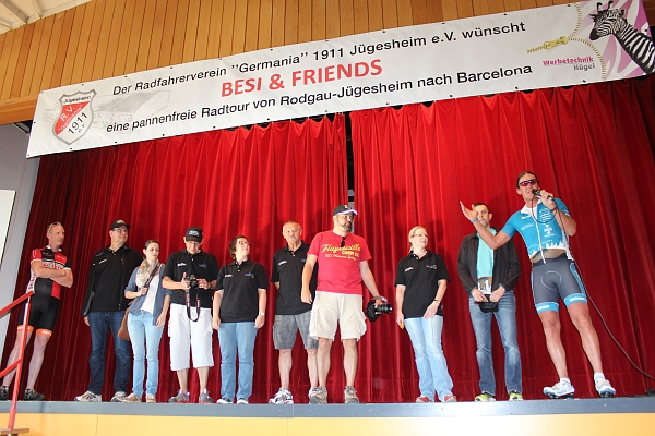 Besi & Friends - das Organisationsteam
