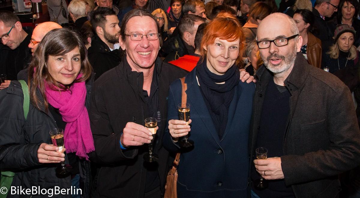 v.l.n.r.: Nicole + Andreas Beseeler, Barbara Struif, Christian Gropper