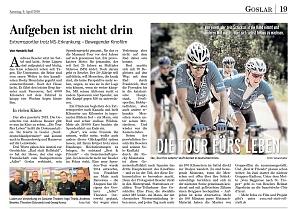 Goslarsche Zeitung 09.04.2016