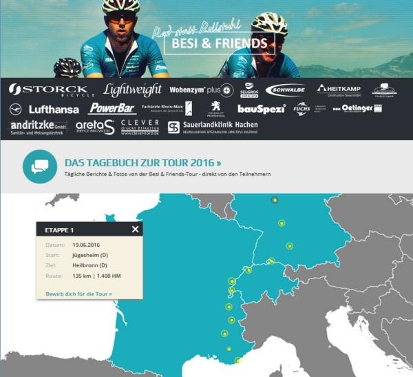 Unsere Team-Website www.rad-statt-rollstuhl.de