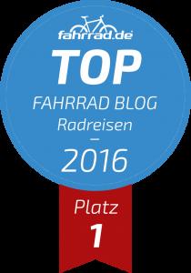 TOP Fahrrad-Blog 2017: meine Stimme für Sven Globetrotter