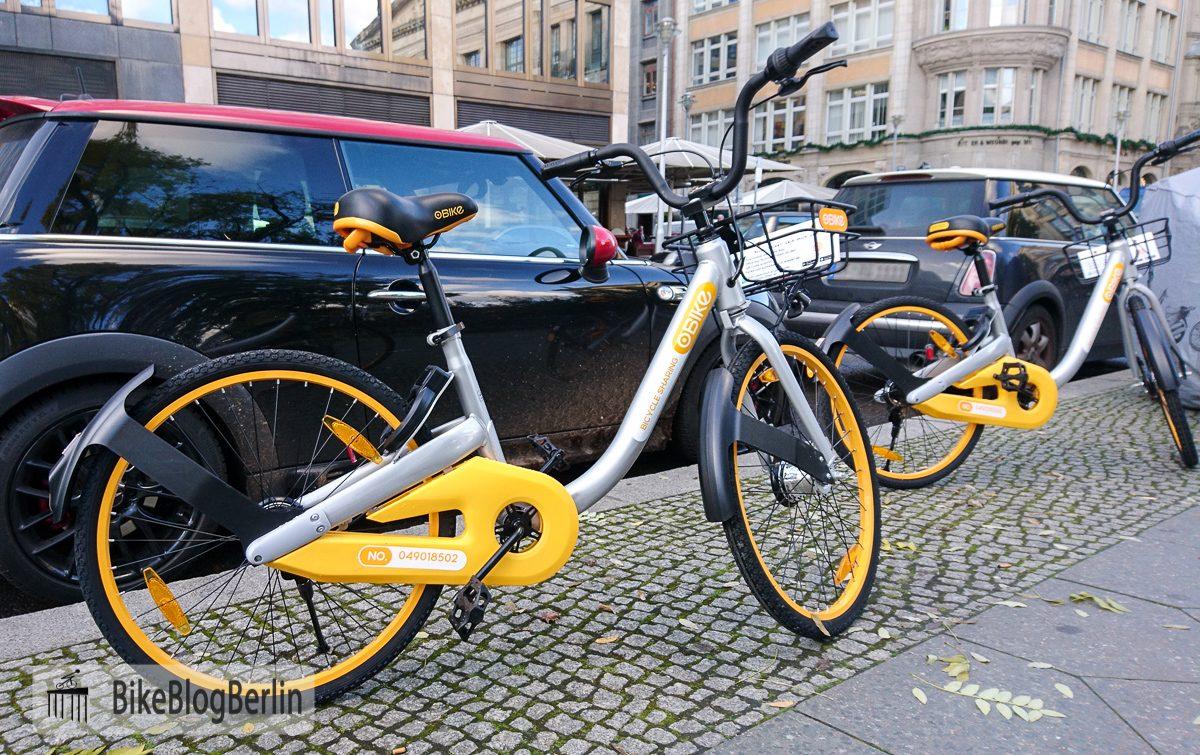 """OBike – Bikesharing in """"billig"""""""